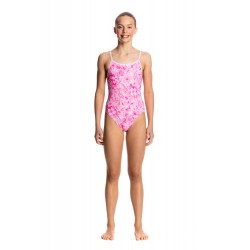 ef8e797692 Funkita - Swimsuit - Girls - Novel Floral - Single Strap One Piece