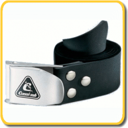 Cressi Weight Belt - Rubber - Flip up Buckle