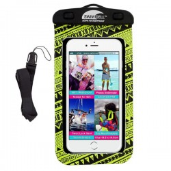 Swim Cell Waterproof Case - Large Tablet - Black