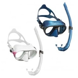 Cressi Mask & Snorkel Set - Calibro - Various colours