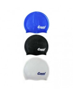 Cressi Silicone Swim Cap - Adult - Various Colours