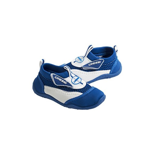 Cressi Coral Beach Shoes - Kids - Blue/White