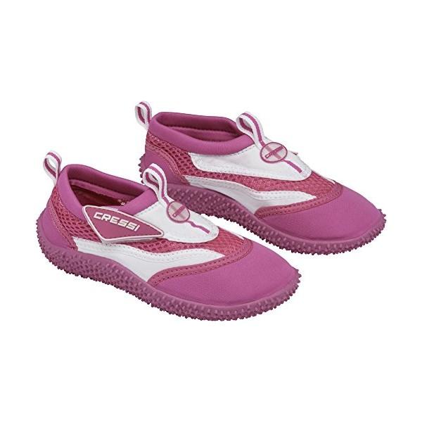 062729bc5894 Cressi Coral Beach Shoes - Kids - Pink White - Apnea