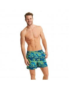 Zoggs - Swim - Mens - Discovery Shorts - Green/Multi