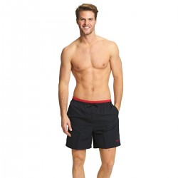 Zoggs - Swim - Mens - Sandstone Shorts - Black/Red
