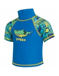 Zoggs - Deep Sea Sun Top - Kids - Blue