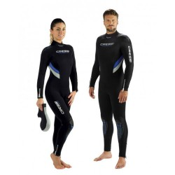 Cressi Wetsuit - Castora Plus - Lady - One Piece 7mm
