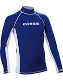 Cressi Rash Guard - Long Sleeve - Blue