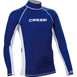 Cressi Rash Guard - Long Sleeve - Blue