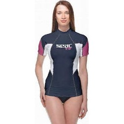 SEAC RAA Short Sleeve Tribe EVO Rash Vest - Lady
