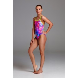 Funkita - Swimsuit - Girls - Kaleidocolour - Single Strap One Piece