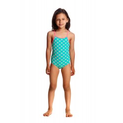 Funkita - Swimsuit - Toddler - Printed One Piece -Minty Fresh