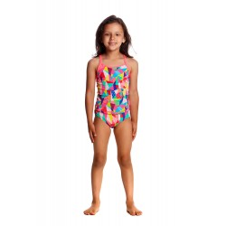 Funkita - Swimsuit - Toddler - Printed One Piece -Pastel Patch