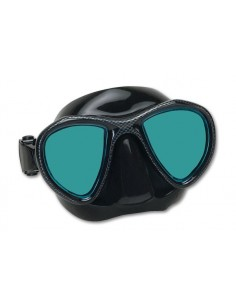 Imersion Mask - Abyss - Black Silicone/Non-Reflective lenses