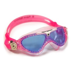 Aquasphere Vista Junior Swim Mask - Pink/White/Blue