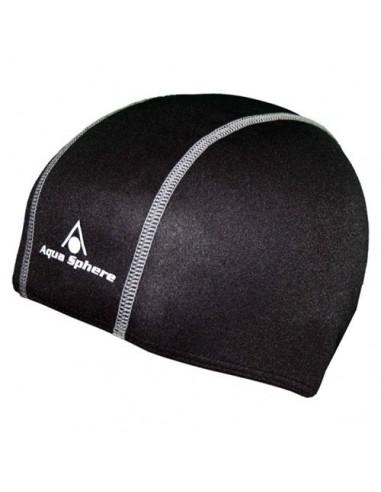 Aquasphere Easy Swim Cap - Adult - Black