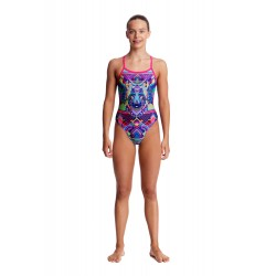 Funkita - Swimsuit - Girls - Wolf Pack - Single Strap One Piece
