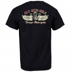 Old Guys Rule - Tee - Vintage Motorcycles