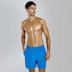 Speedo - Watershort - Mens - Check Trim Leisure 16'' -  Blue
