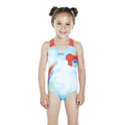 Speedo - Swimsuit - Kids - Sunkissed Shine Applique- Pink