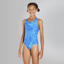 Speedo - Swimsuit - Junior - Boom Allover Splashback - Blue/Blue
