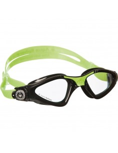 Aquasphere Kayenne Junior swim goggles - Black/Lime/Clear Lenses