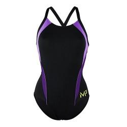 Michael Phelps Swimsuit - Ladies - Kalista - Black/Lilac