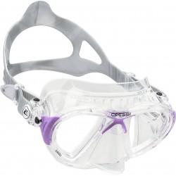 Cressi Mask - Nano - Clear/Lilac