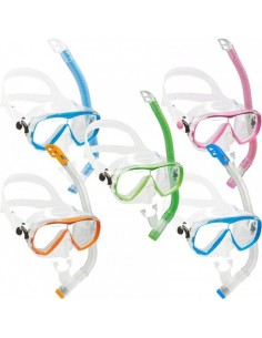 Cressi Mask & Snorkel Set - Junior- Estrella VIP - Various Colours