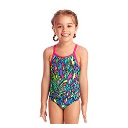 Funkita - Swimsuit - Toddler - Printed One Piece -Feather Fiesta