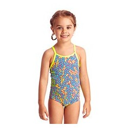 Funkita - Swimsuit - Toddler - Printed One Piece -Leave Me