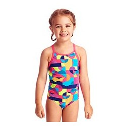 Funkita - Swimsuit - Toddler - Printed One Piece -Mad Mist