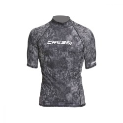 Cressi Rash Guard - Camo Black Grey