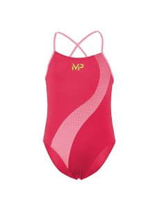 Aquasphere MP Swim Suit - Girls - Lumy - Pink/Coral