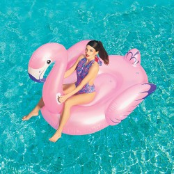 Inflatable Luxury Flamingo Rider