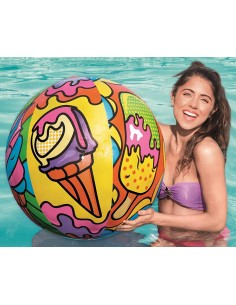 Inflatable Pop Art Beach Ball