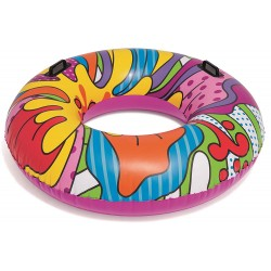 Inflatable Pop Art Beach Tube