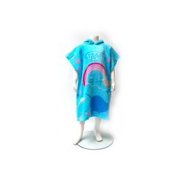 TWF Towel Changing Robe - Kids - Nawhal