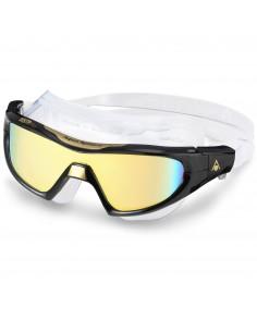 Aquasphere Vista Pro Mask - Black/Gold/Mirror