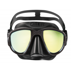 Omer Mask - Alien - Black with mirrored lenses