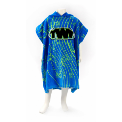 TWF Towel Changing Robe - Kids - Weather Map