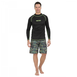 SEAC Rash Vest - Long Sleeve - Black