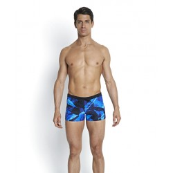 Speedo - Swim - Mens - Valminton Aquashort - Black/Blue