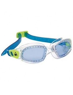 Aquasphere Kameleon Kid swim goggles - Clear/Lime/Blue