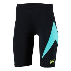 Michael Phelps Jammer - Junior - Dylan - Black/Turqoise