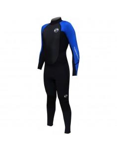 SOLA Wetsuit - Fusion 3/2 - Mens - Black/Blue
