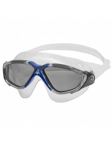 Aquasphere Vista Swim Mask - Ladies - Clear/Dark Grey/Blue/Dark lenses