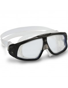 Aquasphere Seal 2 Mask - Black/Grey/Clear Lenses