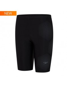 Speedo - Junior Boys - Tech Placement Jammer - Black/Ardesia