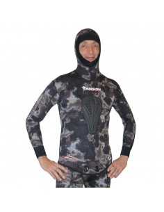Imersion Wetsuit - Seriole Brown Camo - Super Stretch 7mm (Jacket + Long-John Pant)